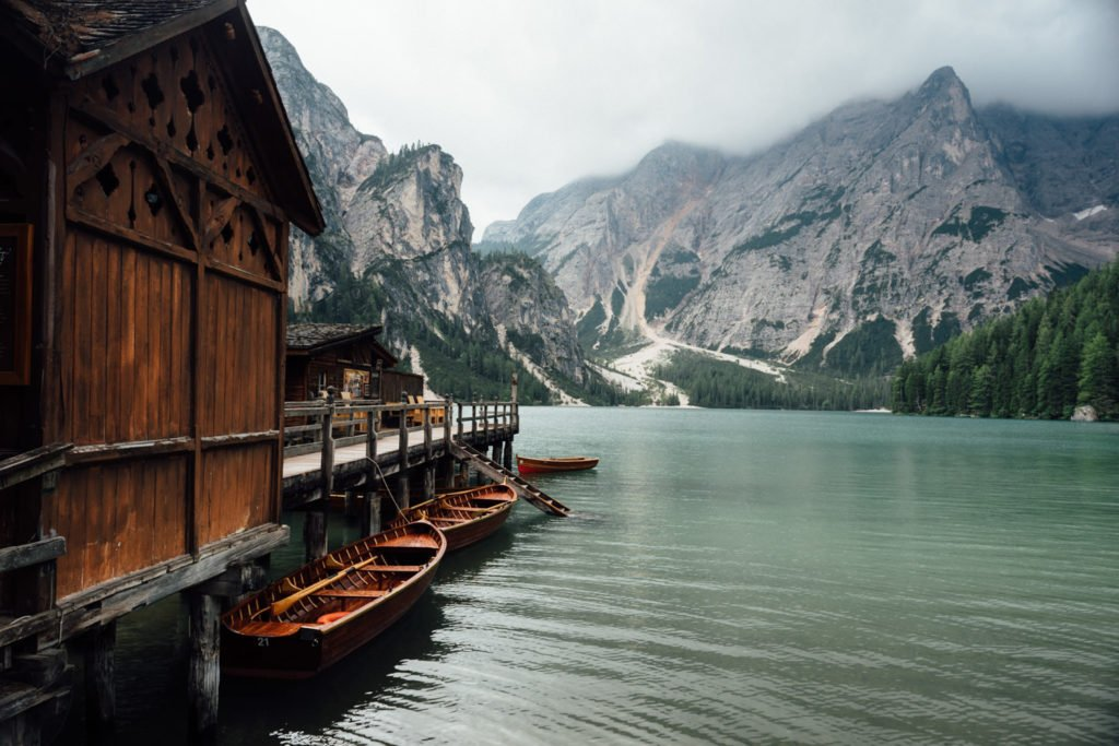Lake Braies Prags Wildersee