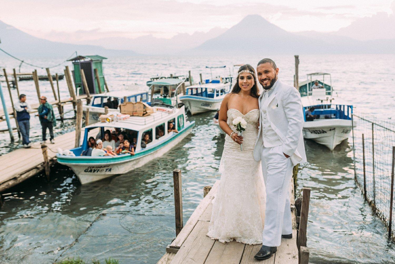 Lake Atitlan Guatemala wedding elopement