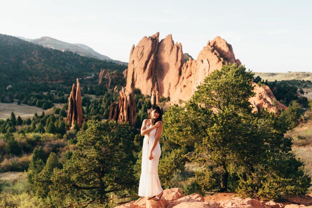Garden Of The Gods Wedding Colorado Sean Carr Photography