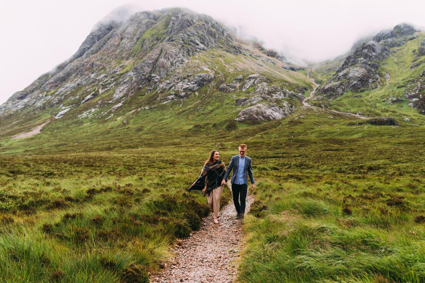 Isle of Skye Elopement at Glencoe Scotland