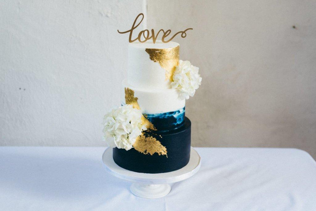 Portland Oregon Wedding cake