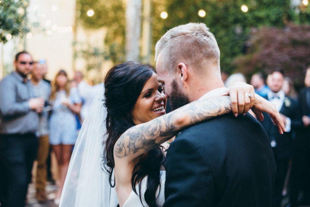 First dance during Portland Oregon wedding