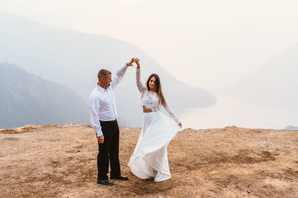 The Epic PNW Engagement Session