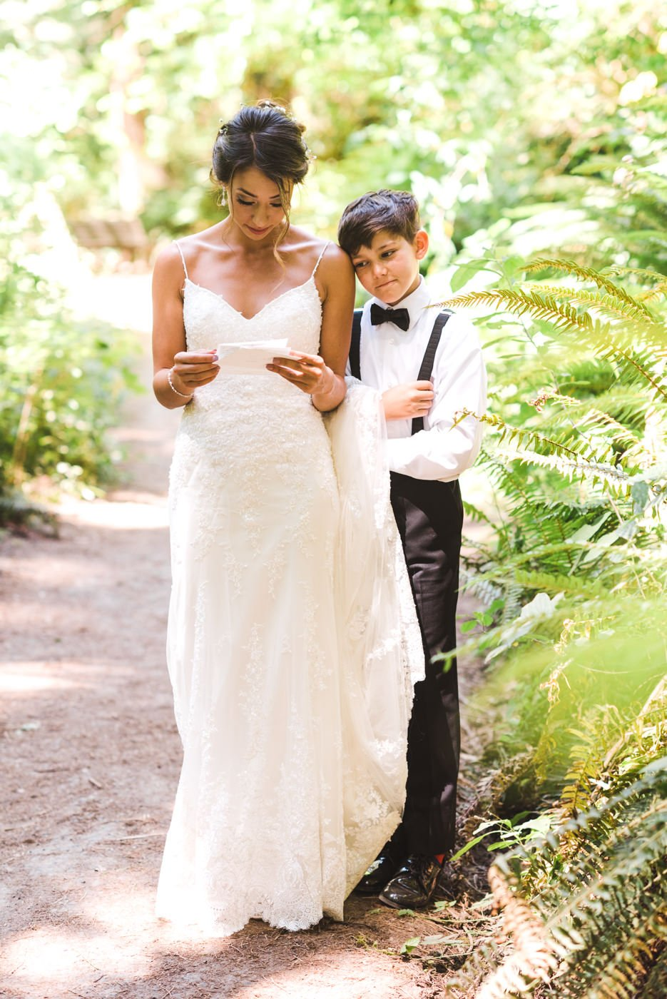 Downtown Portland Summer Wedding at Hoyt Arboretum