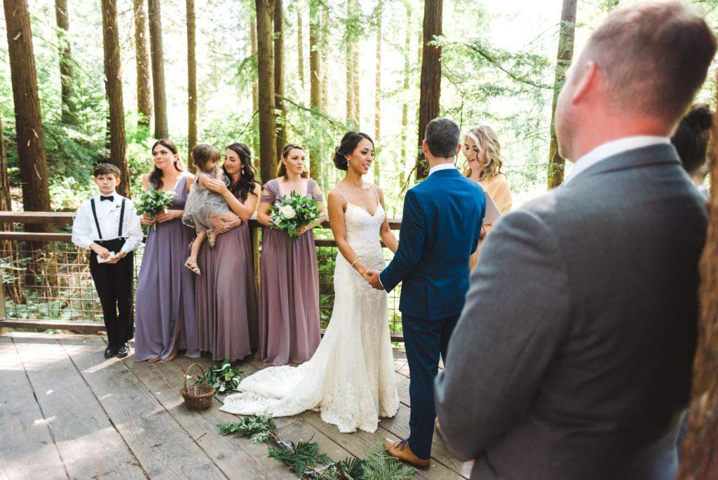 Downtown Portland Summer wedding