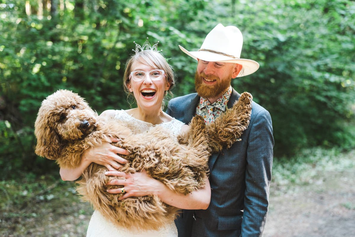 Rustic Columbia River Gorge Wedding