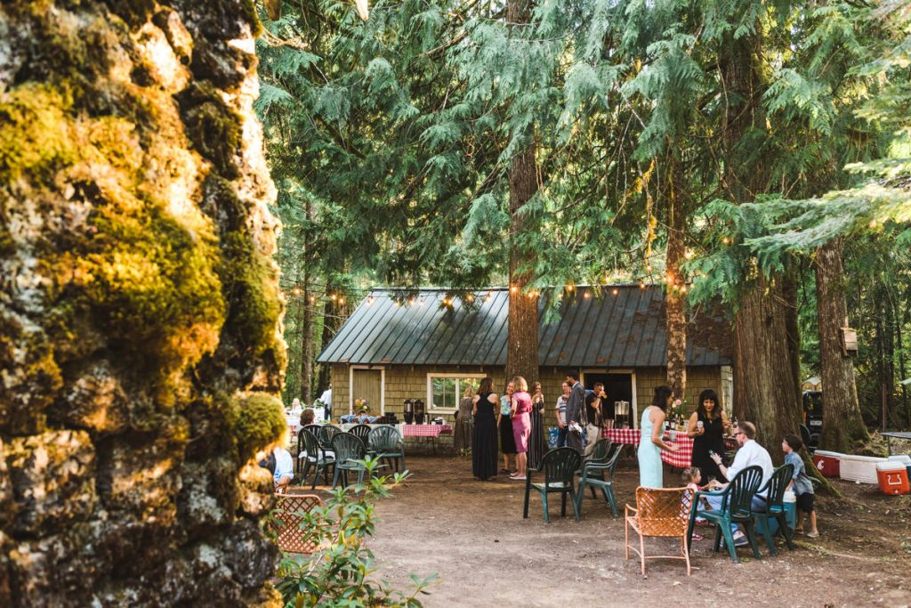 Rustic Columbia River Gorge Wedding