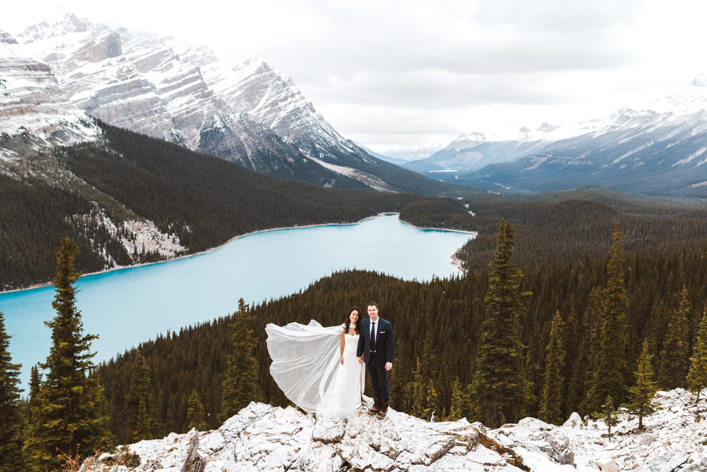 Banff National Park Adventure Wedding