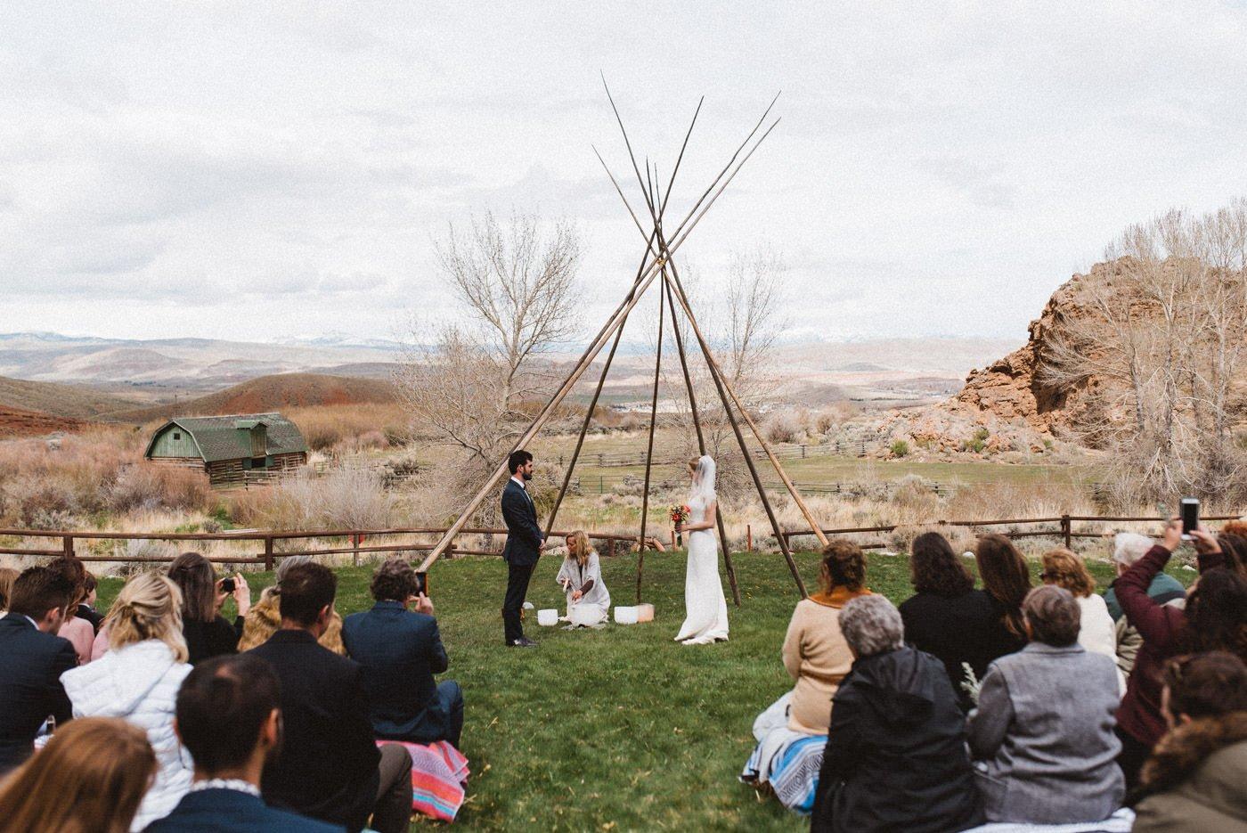 Jackson Hole Wyoming Wedding