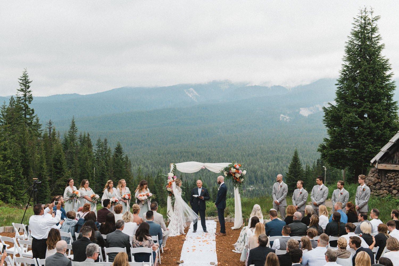 Mt Hood Skibowl Wedding