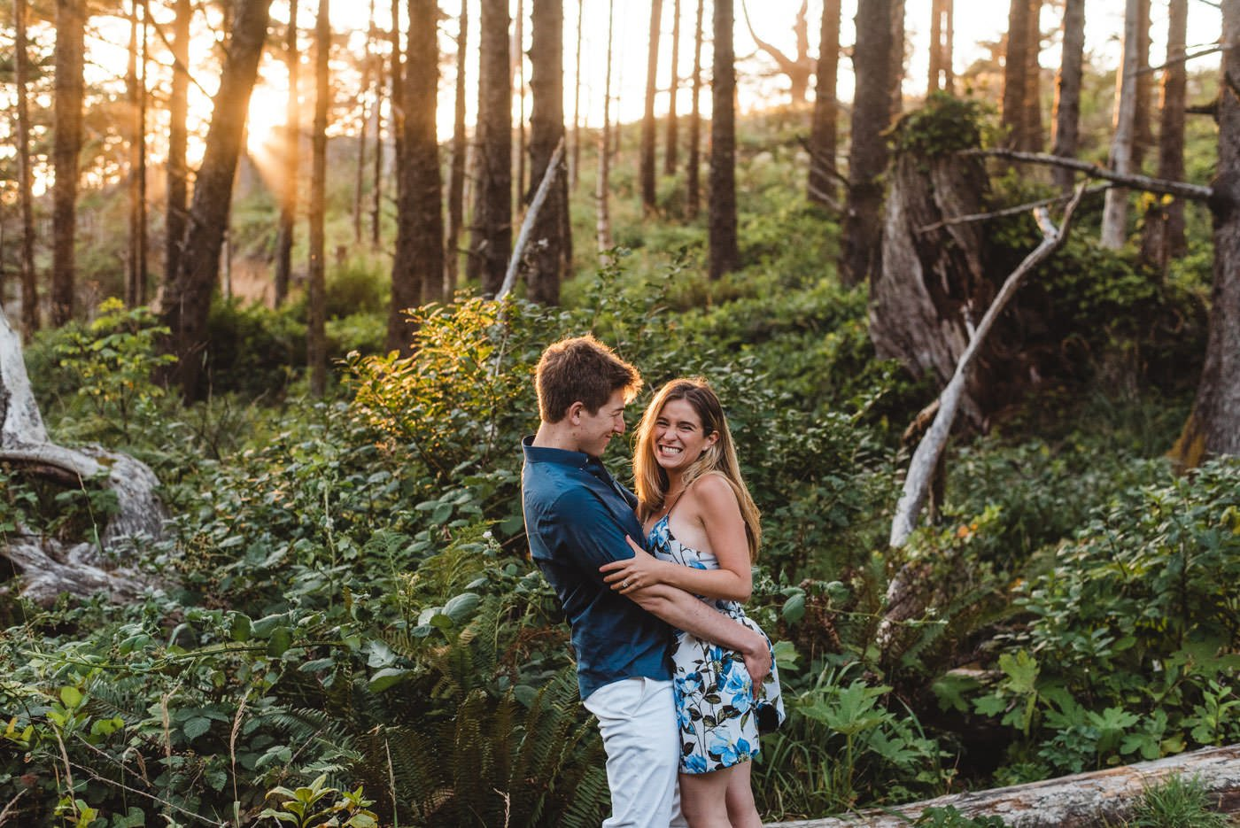 Hug Point and Cannon Beach Engagement
