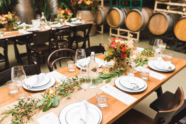 Coopers Hall Wedding reception