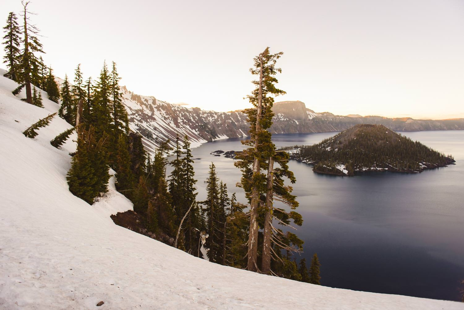 Bend and Eastern Oregon Elopement Locations Crater Lake