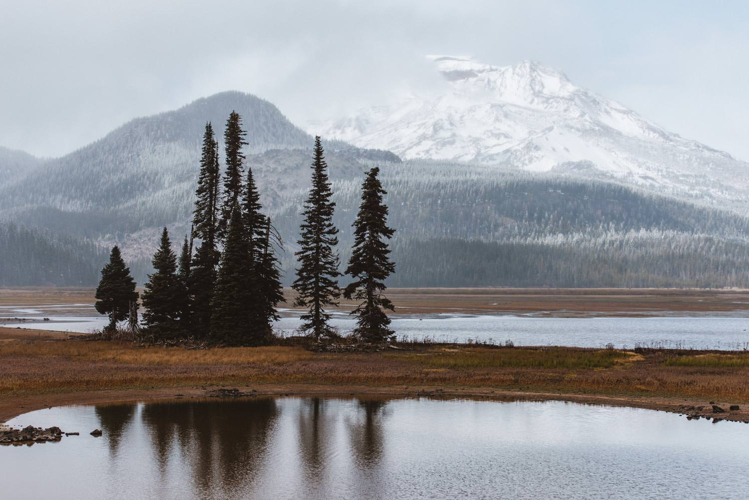 Bend and Eastern Oregon Elopement Locations Sparks Lake