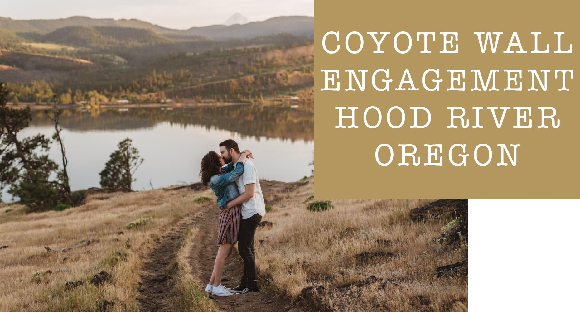 Hood River Engagement Cover