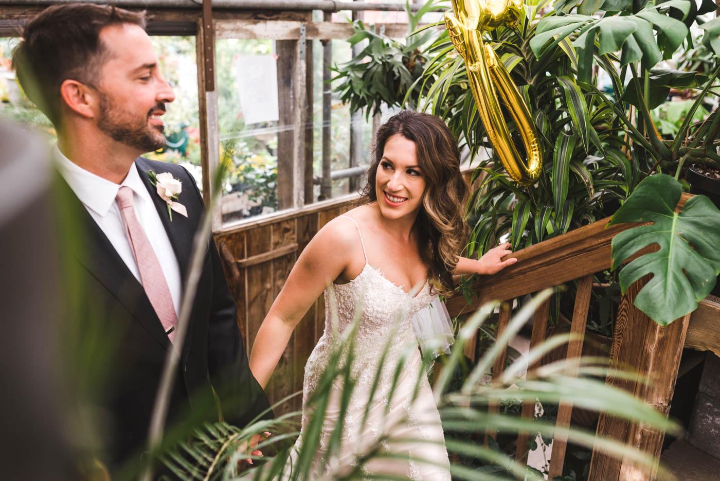 Hoyt Arboretum and Blockhouse Wedding
