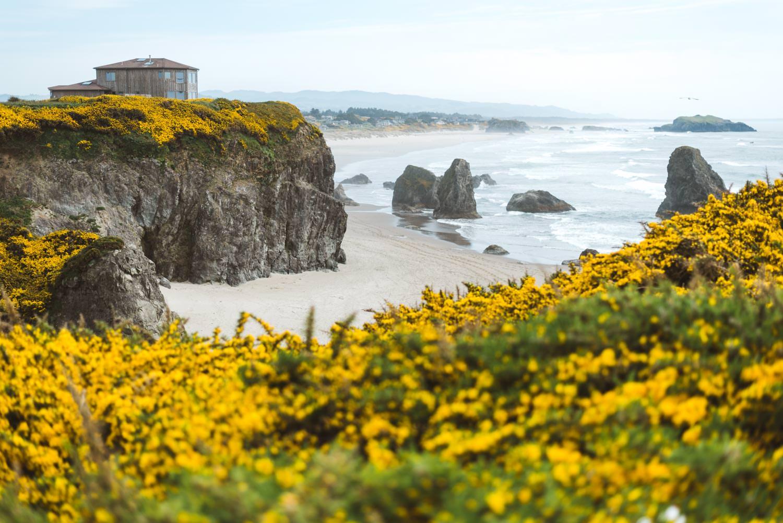 Top 4 Best Oregon Elopement Locations at Bandon Beach
