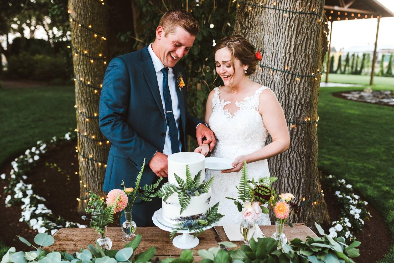 Wilmes Hop farm Wedding Portland Oregon