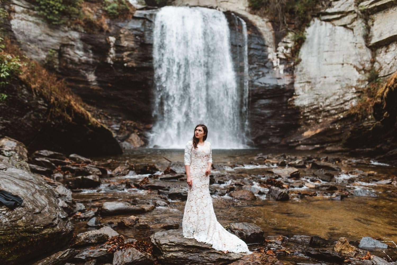 Portland Waterfall Bridal