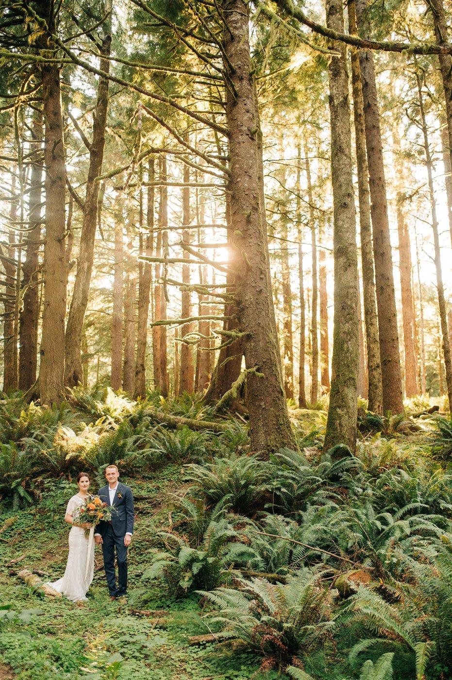 Ecola State Park Oregon Coast Elopement